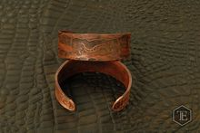 RMJ Tactical Double Dragon forged Copper Bracelet