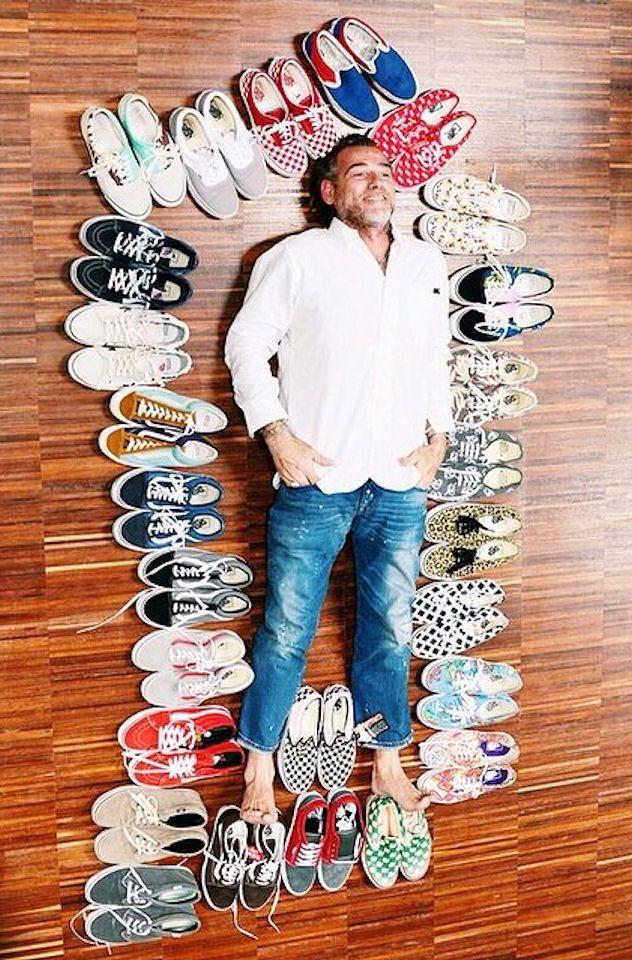 Alessandro Squarzi & His Vans Collection