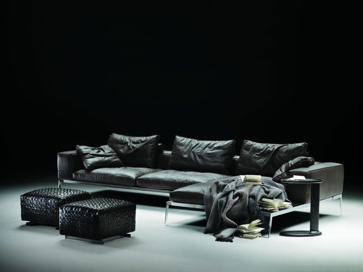 Flexform Designed Lifesteel Sofa In 2006 And Gained Extraordinary Success  Thanks To Its Pure Elegance Of Style. The Nickel Plated (also Available As  Stained ...