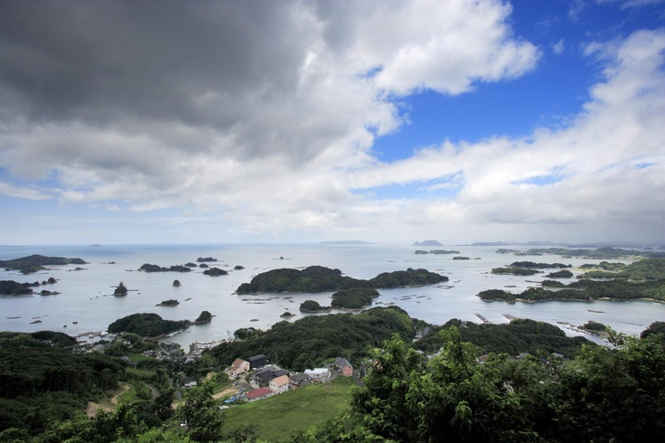 九十九島  Kujukushima islands