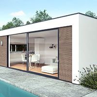 The bePods QUBE, the solution for your house extension