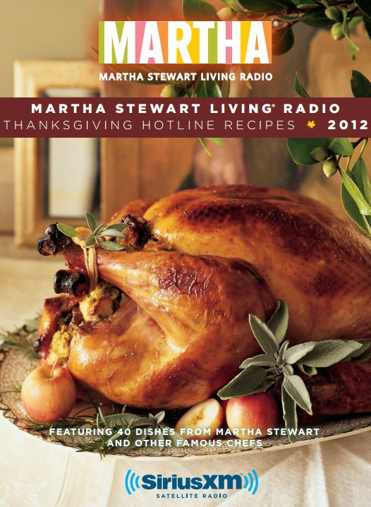 Getting ready for Thanksgiving Dinner? Here's a free Martha Stewart Thanksgiving Recipe Booklet download. I particularly appreciated the wine and beer recommendations and the forms at the back of the book -- a Thanksgiving Planner, a Menu Planner and a Shopping List.