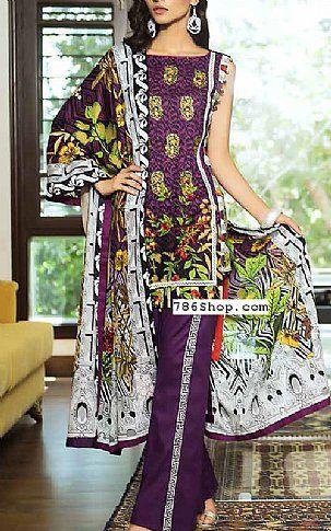 db5660d060 Indigo Lawn Suit   Buy Khadija Noor Pakistani Dresses and Clothing online  in USA, UK