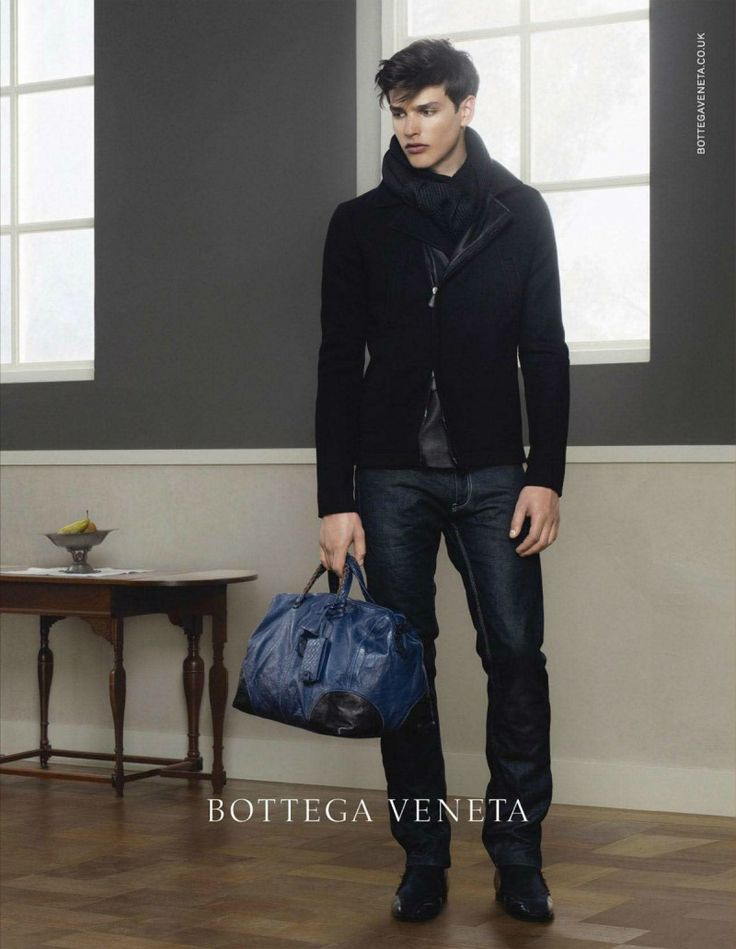 Erwin Olaf Photographs Simon Van Meervenne for Bottega Veneta Fall/Winter  2012 Campaign