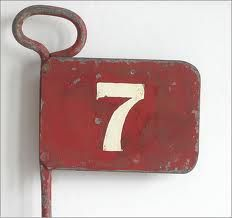 Bon House Number . Mini Golf Tee · Lucky NumberNumber 7Door ...