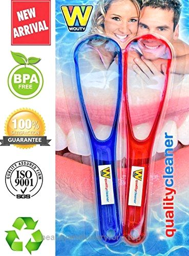 Quality Cleaners Tongue Scrapers Made from Anti-Bacterial, BPA Free Plastic.Tongue Scraper Gives Fresh Breath and Better Taste, Tongue Cleaner is Best Oral Care for Halitosis. THE Tongue Cleaners!  BUY NOW     $15.90      Tongue Cleaners from WOUTY is the solution to clean your tongue easily and effectively. It gives you fresher breath and bet ..  http://www.beautyandluxuryforu.top/2017/03/07/quality-cleaners-tongue-scrapers-made-from-anti-bacterial-bpa-free-plastic-tongue-scra..