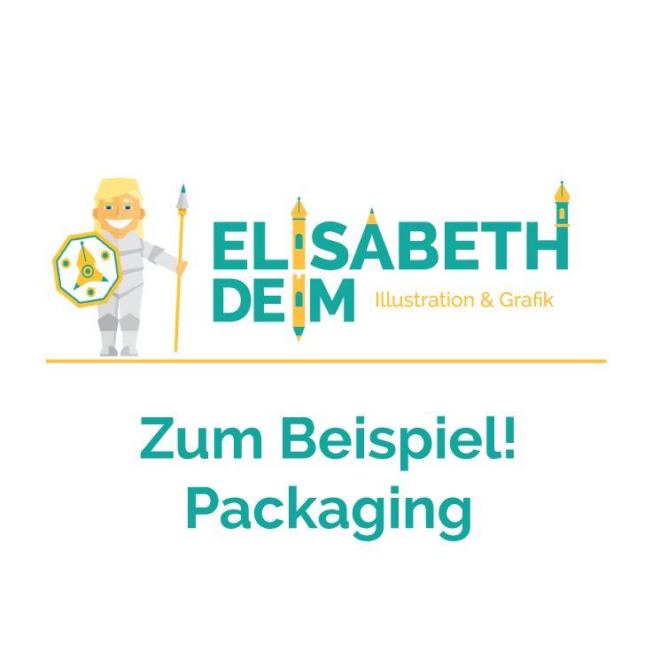 Zum Beispiel! Packaging Illustration