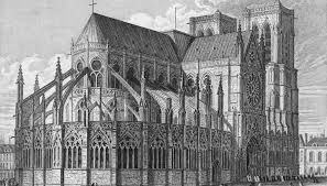 Image result for notre dame cathedral flying buttresses