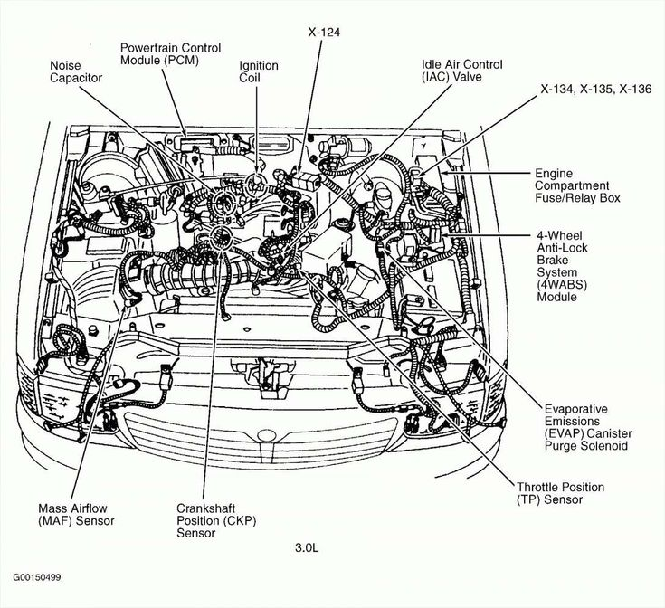 Engine Wiring Diagram And Chevy Impala Engine Diagram