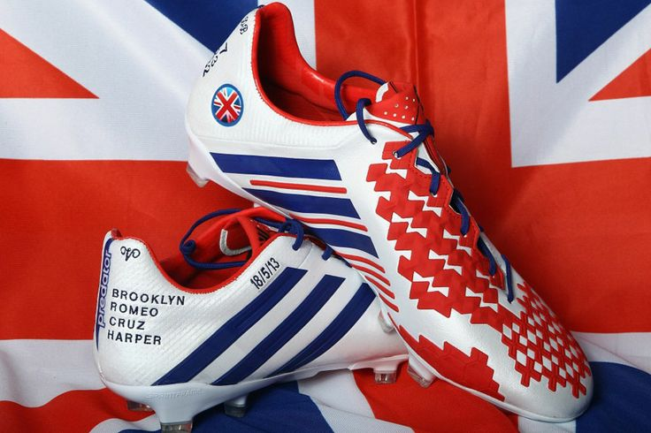 MIADIDAS PREDATOR LETHAL ZONE CLEATS FOR DAVID BECKHAM