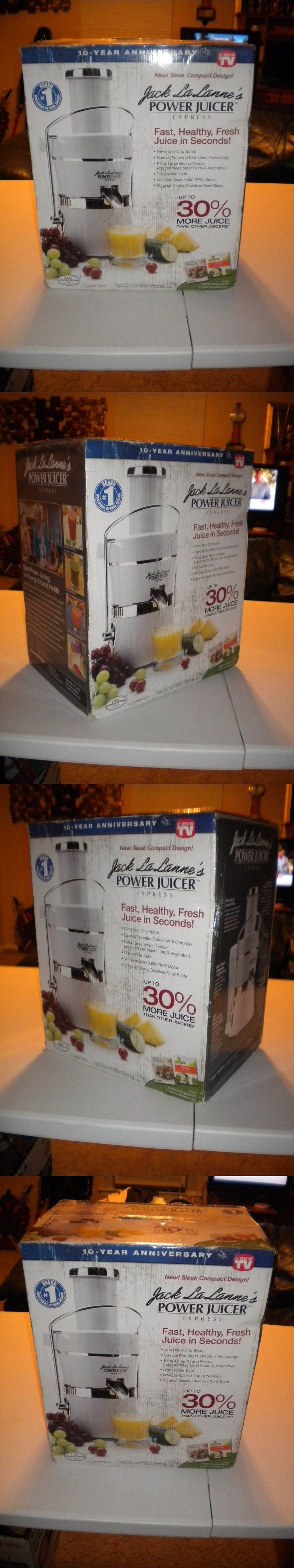 Juicers 20677: New Jack Lalanne S Power Juicer Express New In Box -> BUY IT NOW ONLY: $99.99 on eBay!