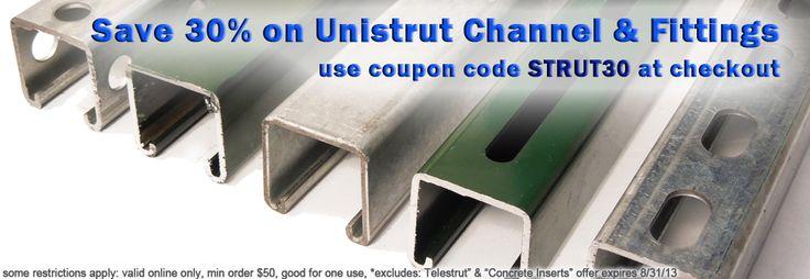 Huge Sale On Unistrut Metal Framing Channel Brackets