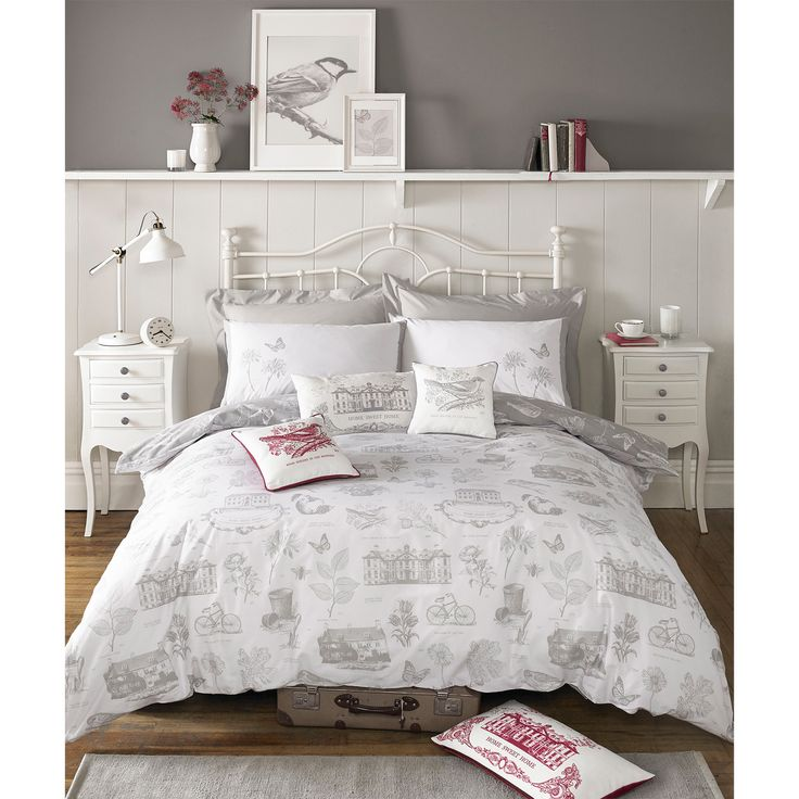 kirstie allsopp harriet bettw sche 180 faden baumwolle. Black Bedroom Furniture Sets. Home Design Ideas