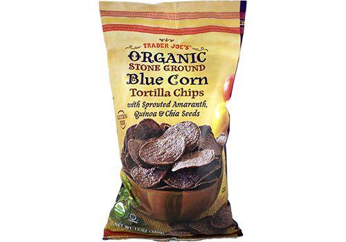 Organic Stone Ground Blue Corn Tortilla Chips