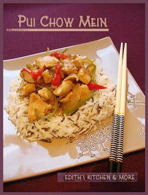 PUI CHOW MEIN - Edith's Kitchen