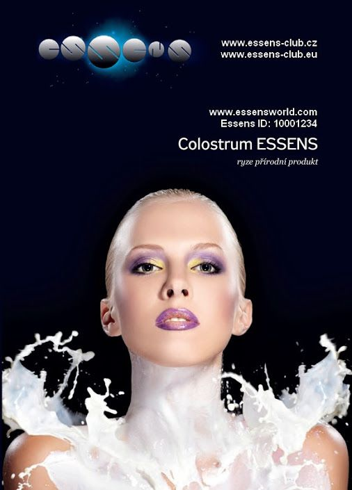 Katalog Essens Colostrum   Colostrum  and Cosmetics – Colostrum plus –  Colostrum Probiotics Více o Essens na www.essensclub.cz . Great business opportunity. Be first in your Country, Join us for FEE with .Essens ID:  1010002981 on www.essensworld.com.