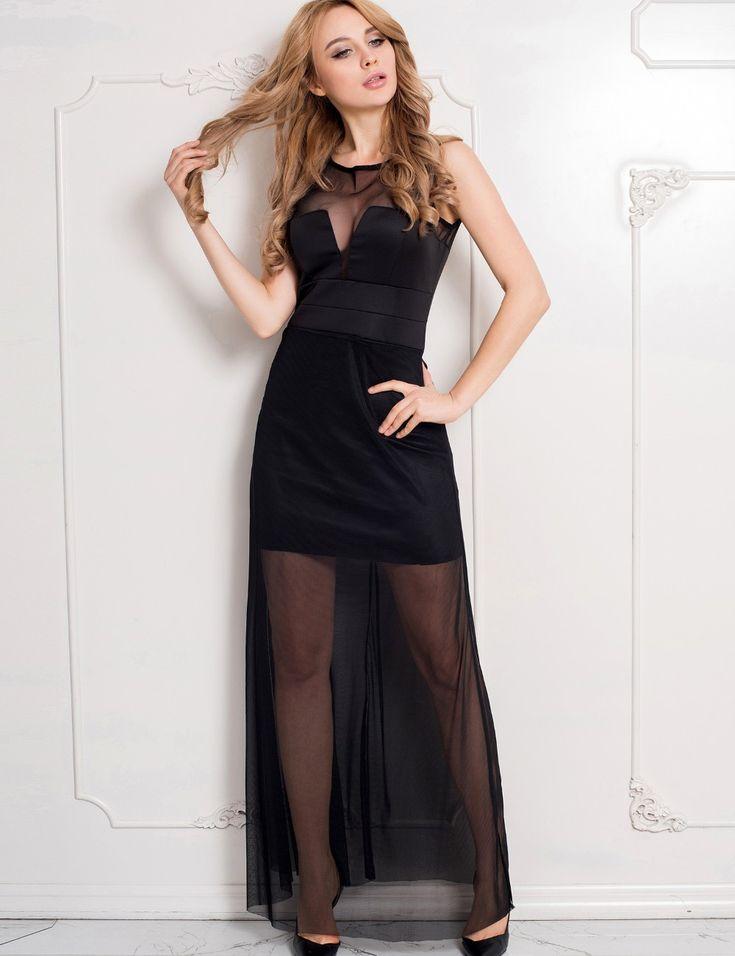 R70235 шифоновое платье с длиной до пола sheer наложение макси платья длинные горячие продажа рукавов сладкий и романтика женщины летом платье купить на AliExpress