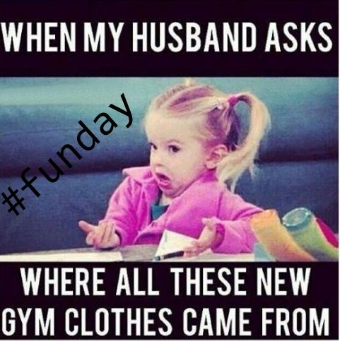 Just some #shopping ... #sportwear  #funday #funny #funnyquotes #sportswear #fitness #jokes #urbhanize #ustix #dance #dancefitness
