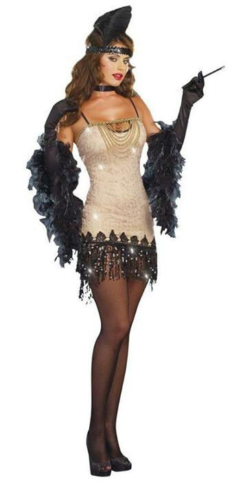 Flapper Girl Costume Idea ~Halloween
