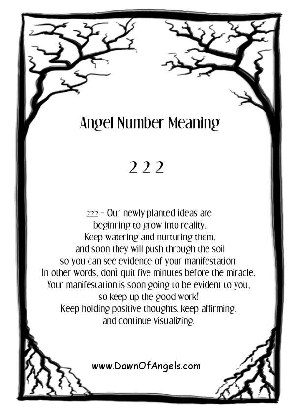 Numerology: Angel Number 222 Meaning | #numerology #angelnumbers