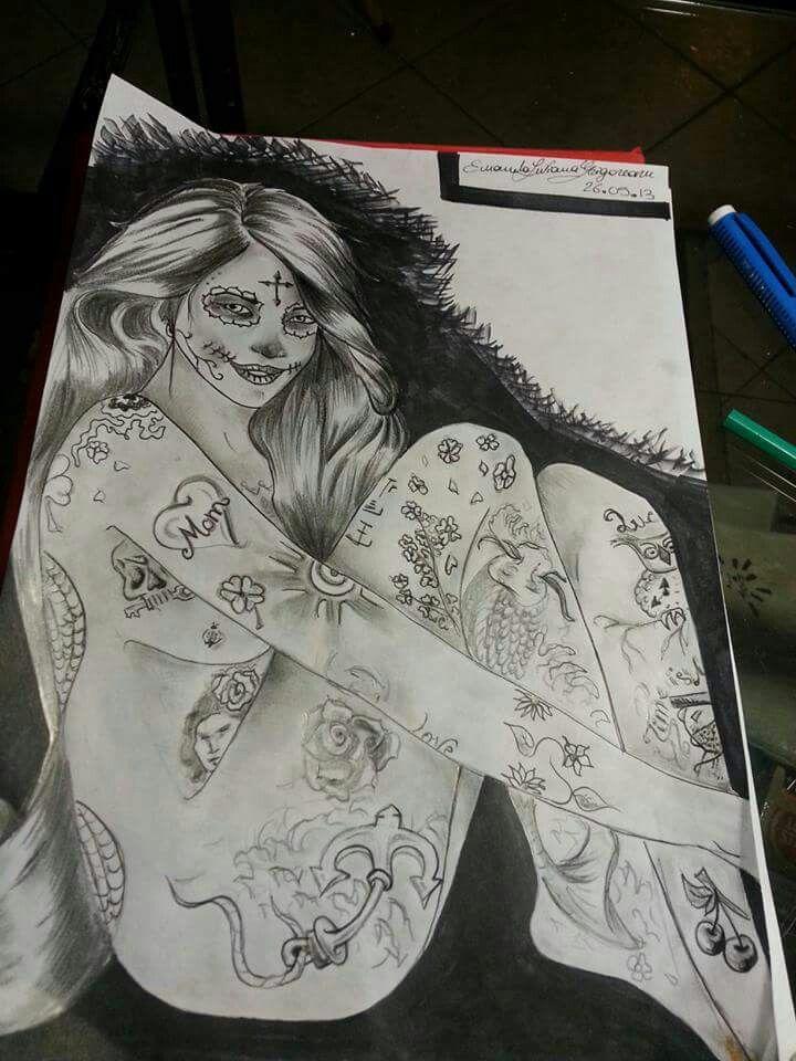 #tattoo Ketty Fly - Liviana Grigoreanu #ink #woman #dragonfly #ink #tattooink #tattoowork