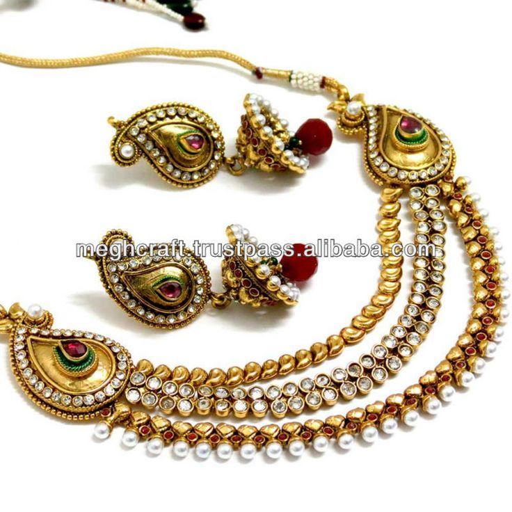 2013 Latest Design Imitation Jewelry - Indian Ethnic Jewelry - One ...