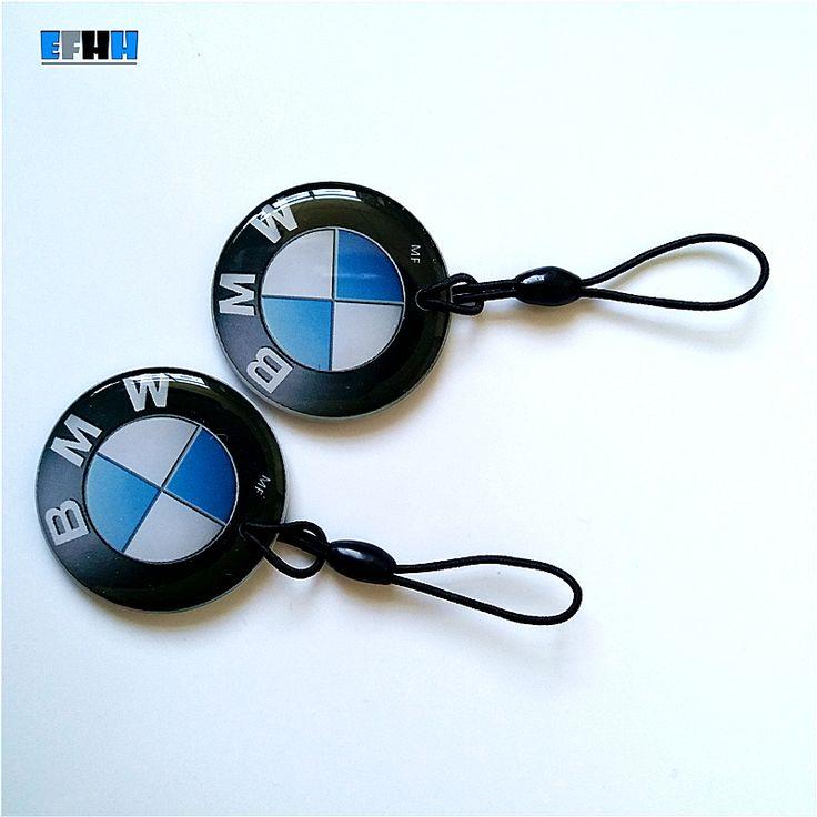 125 Khz EM4305 Regrabables EM4205 Keyfobs RFID Etiquetas Clave Copia Clon Tarjeta En Blanco