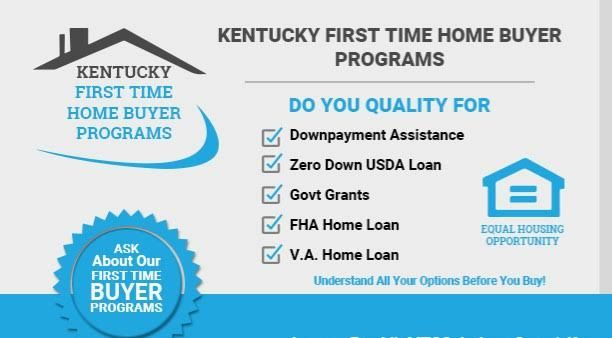 Down Payment Assistance Grants For Kentucky First Time Home Buyers 2019 First Time Home Buyers Kentucky Mortgage Loans