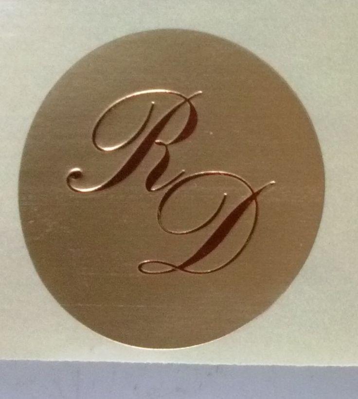 Monogrammi adesivi per matrimonio. http://stores.shop.ebay.it/ARES-di-Fortunato-Giuseppe
