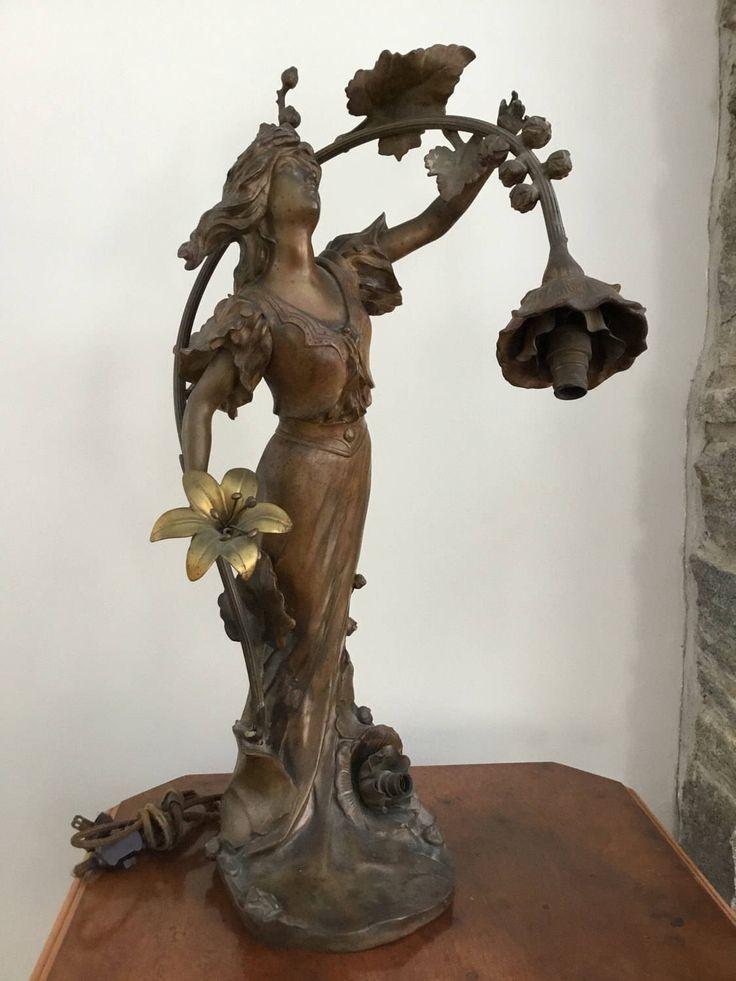Best Pin By Karen Cain Bond On Figurative Lamps Art Nouveau 400 x 300