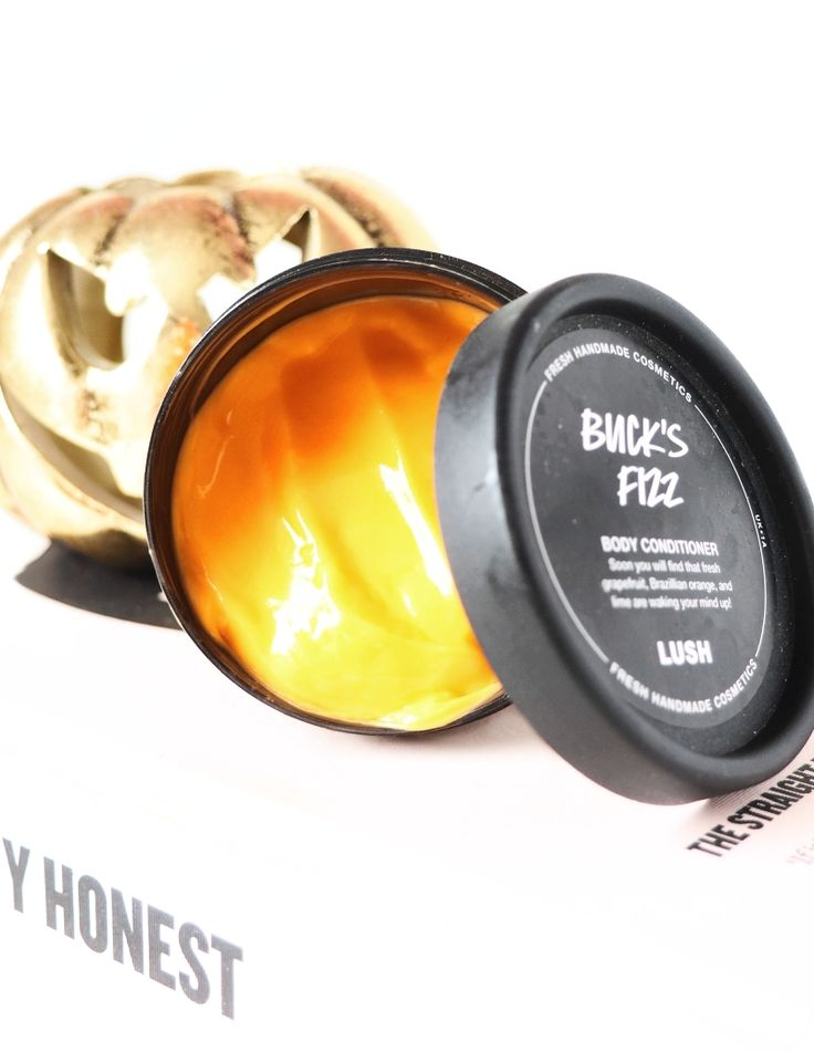 Review: LUSH Buck's Fizz Body Conditioner