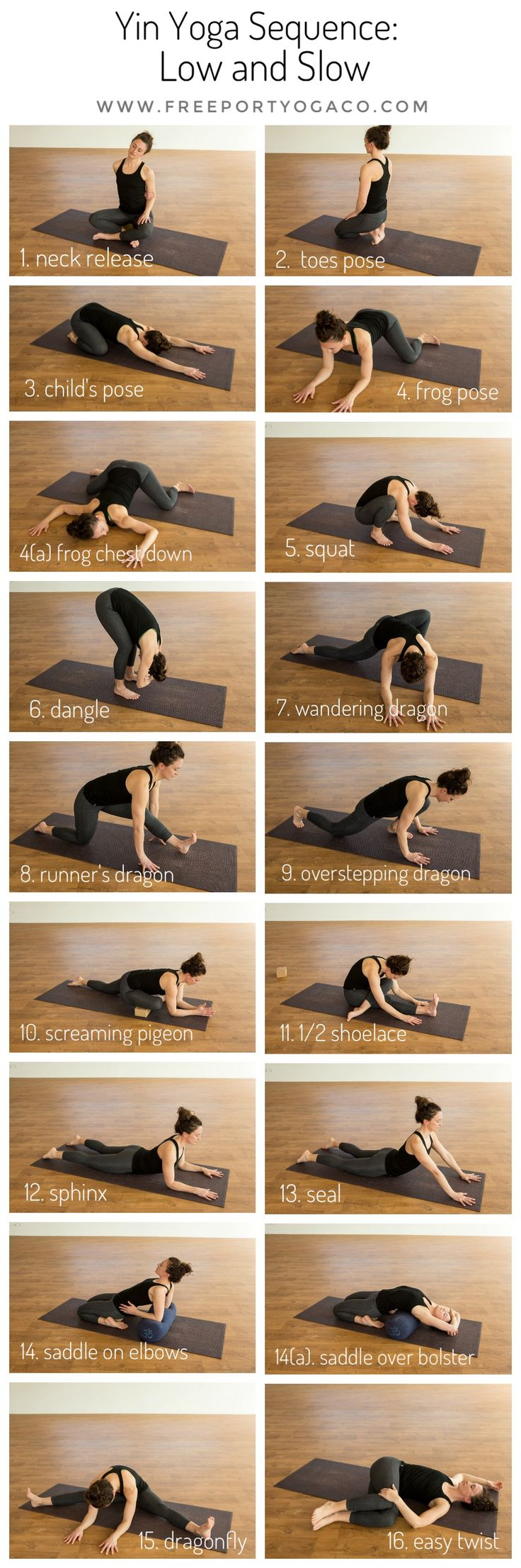 "This month's Yin Yoga Sequence is aptly titled ""Low and Slow"", inviting an earthy, grounded energy, and physically, targeting the lower body, including the feet and ankles.  As always, I take into consideration my runners and athletes, who are currently coming off race season, or getting ready for the last big races, and this sequence is perfect for either phase of training.   #yinyogasequence #yinyoga #yogaforrunners #yogaforathletes"