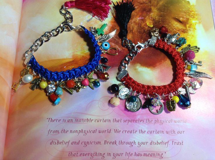 Energy bracelets.