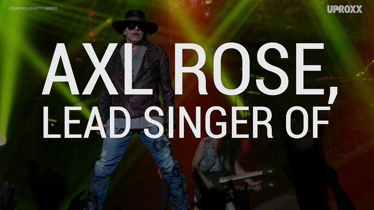 Axl Rose Becoming AC/DCs New Singer Is All But A Done Deal