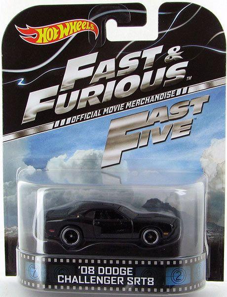 Hot Wheels Fast Amp Furious 08 Dodge Challenger Srt8 Real