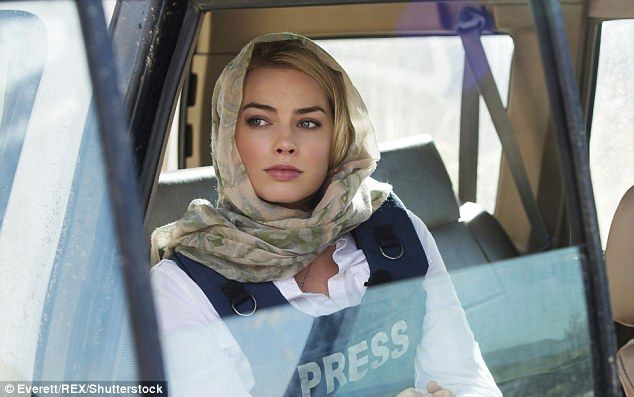 New role: Margot's latest acting gig is playing journalist Tanya Vanderpoel in Whisky, Tan...
