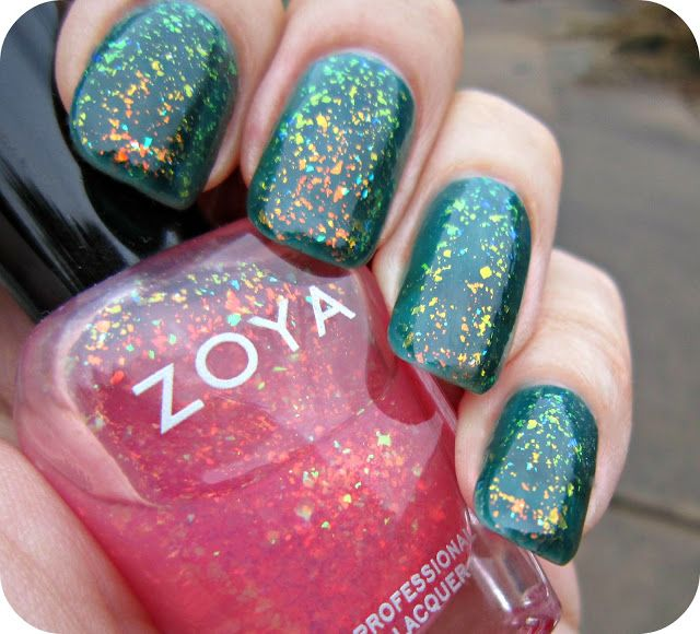 Concrete and Nail Polish: Zoya Frida & Chloe: My Favorite Layering Combo Ever!