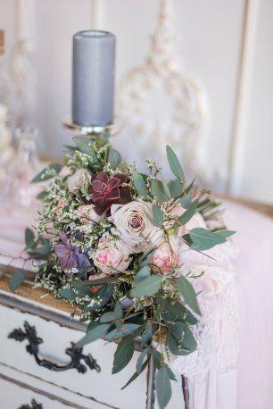 Букет невесты в светло-розовых тонах