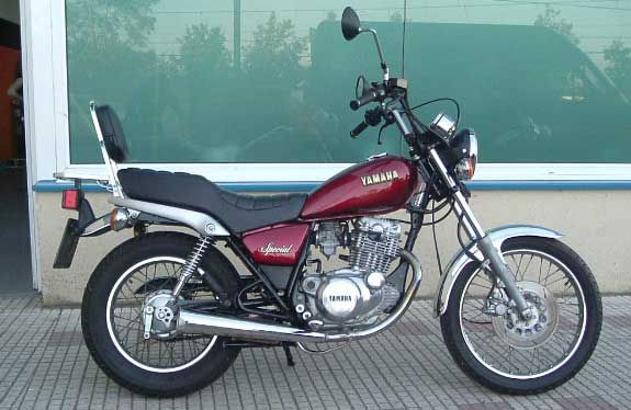 yamaha sr 250 special