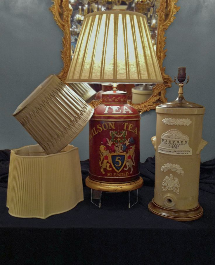 Large Selection of Lamps and Shades