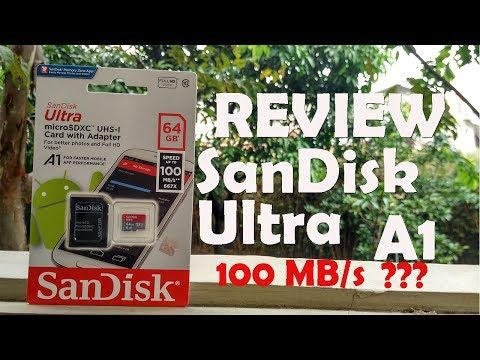 [Review] Micro SD 64GB SanDisk Ultra A1 UHS-I 100mb/s | bahasa Indonesia
