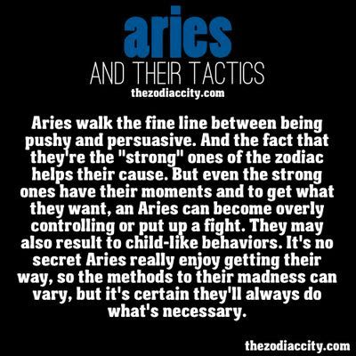 Characteristics of Aries | Angies Horoscope