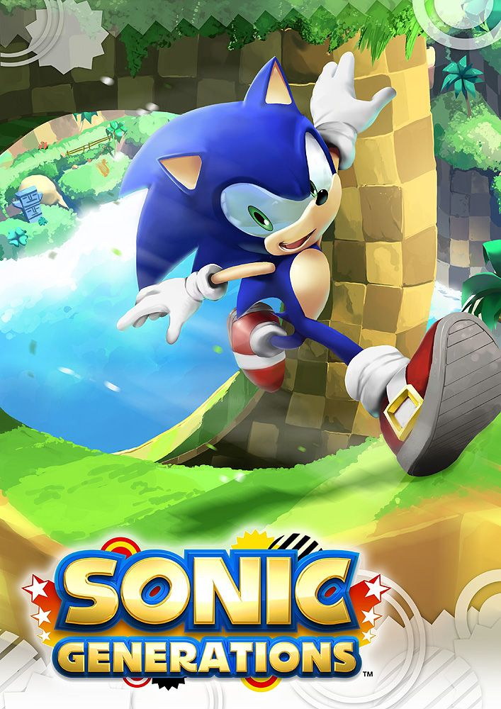 Modern Sonic - Sonic the Hedgehog - Sonic Generations - Green Hill Zone