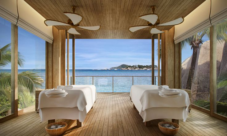 Spa Treatment Room at Six Senses Zil Pasyon in the Seychelles