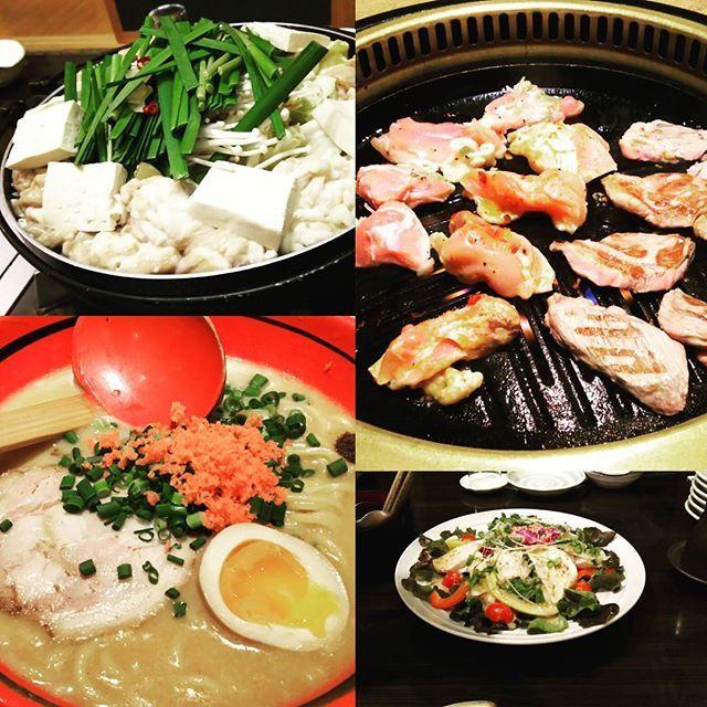 11月18日にACN北海道イベント後の飲み会の食べ物たち!! 一次会はさんかいにて。 モツ鍋、サラダ、海鮮の盛り合わせ、天ぷら、エビチリ、ステーキを美味しくいただきました😋💕 二次会はビール園でジンギスカン! 1件目でもたくさん食べたのにまだお腹に入りました(笑) ラムも豚肉も鶏肉もぜーんぶ美味しかった😆  そしてシメは一幻のラーメン✨ まだ食べるの?って感じだったくせにちょっとキツかったけどお腹に入りました😂 私はえびみそラーメンにしましたが、美味しいものをたくさん食べてきた方からするとしおがオススメらしいので、また行こうかなって思います😍  たくさん飲んだ割に昨日も元気だったのは、食べ飲みしながらもいろんな方々のお話聞けて刺激もあって楽しかったからだろうなーと感じます😌✨ それと同時に、自分の勉強不足を思い知らされたので、毎日少しずつでも知識を増やしたいなと思います!! 小さな目標からコツコツと✨ …無性にラーメン食べたい(笑)  #ACN #sapporo #札幌 #北海道 #hokkaido #さんかい #海鮮 #ビール園 #ジンギスカン #一幻 #ラーメン…
