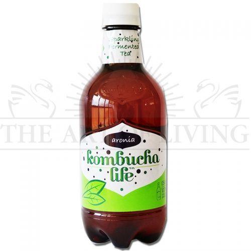 Комбуча Арония, 330 мл.-висококачествен биологичен продукт, който съдържа много полезни за вашето здраве вещества и уникален вкус!  Здравословна напитка с освежаващ вкус!  Произход: България
