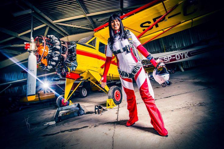 Sky Camp Dropzone, Poland model: Iza Korban fot. KonwentPhotography