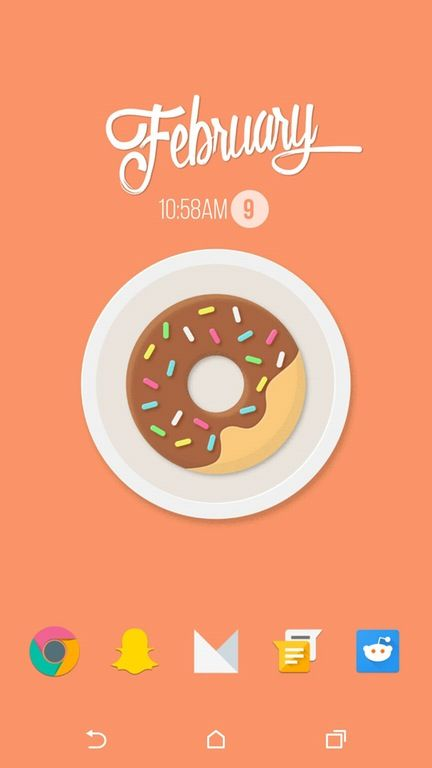 Donut you like barebones? : androidthemes