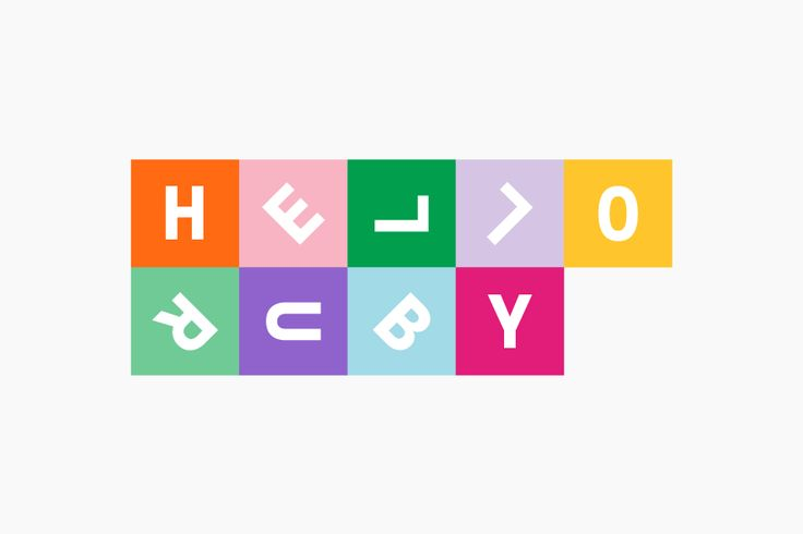 Logo by graphic design studio Kokoro & Moi for popular children's computing brand Hello Ruby