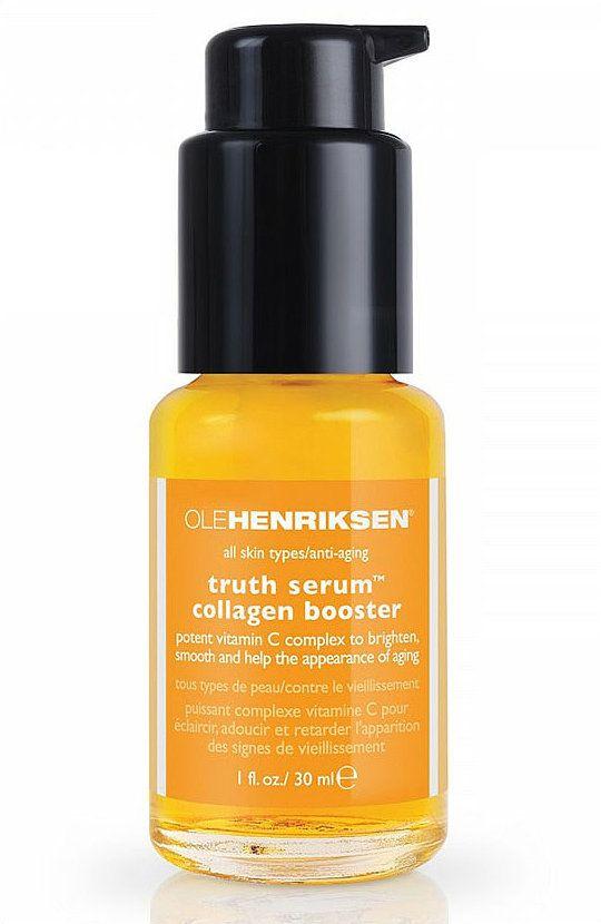 Editor Favorite: Ole Henriksen Truth Serum Collagen Booster ($48) @Heather Brink Barber Henriksen